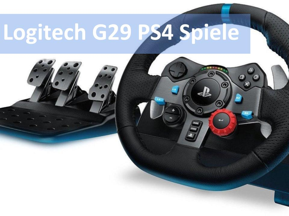 welche ps4 spiele unterst tzen das logitech g29 info. Black Bedroom Furniture Sets. Home Design Ideas