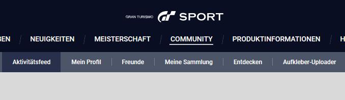 GT Sport Aufkleber-Uploader