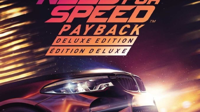 Need for Speed: Payback - Deluxe Edition