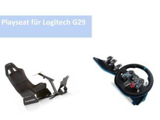 playseat f r logitech g29 archive ps4 lenkrad. Black Bedroom Furniture Sets. Home Design Ideas