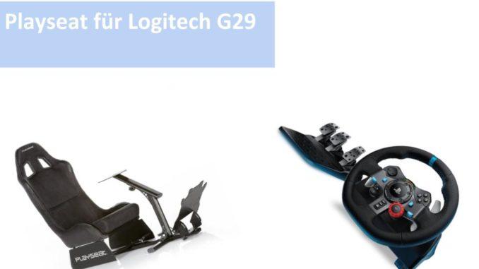 Playseat für Logitech G29