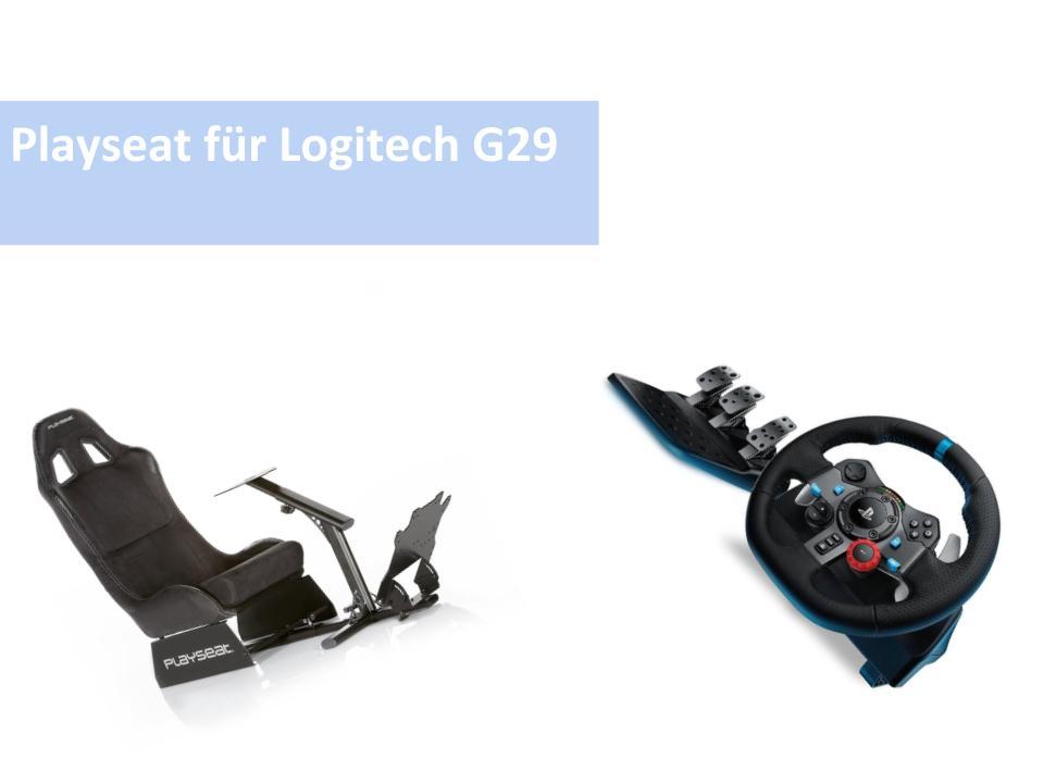 playseat f r logitech g29 ps4 lenkrad. Black Bedroom Furniture Sets. Home Design Ideas
