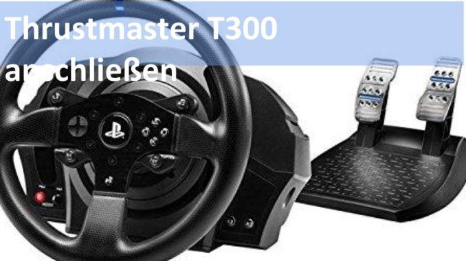 Wie verbindet man das Thrustmaster T300 mit der PS4 Bild