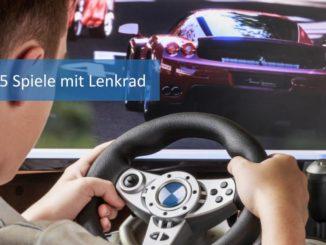 PS5 Spiele mit Lenkrad